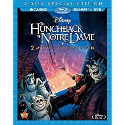The Hunchback Of Notre Dame / The Hunchback Of Notre Dame II (Blu-ray + DVD)