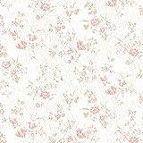 リリカラ 壁紙24m シンプル 花柄 ホワイト パターン LB-9059