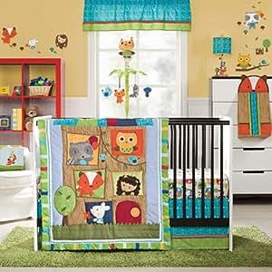 Amazon Com Kids Line 4 Piece Crib Bedding Set Little