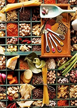 Kitchen Potpourri Jigsaw Puzzle, 1000-Piece
