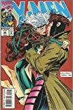 X-Men #24 Vol. 1 September 1993 Rogue and Gambit First Kiss Cover