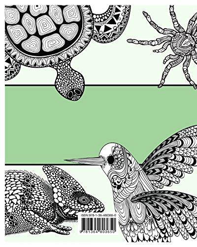 La Distensione Animali Libro Da Colorare Per Adulti
