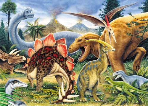 Dinosaurs Junior Paint By Number Kit - 5