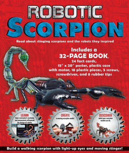 Robotic Scorpion from Silver Dolphin Books
