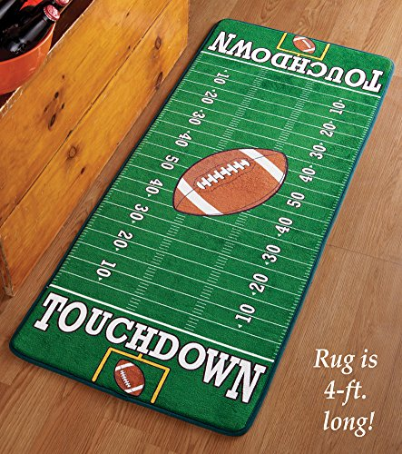 Football Field Accent Rug