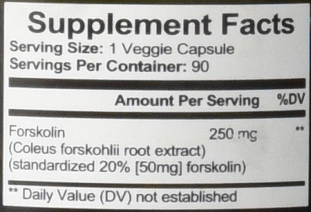 Amazon.com: Forskolin Belly Buster - Burn Fat Build Muscle, 90 ...