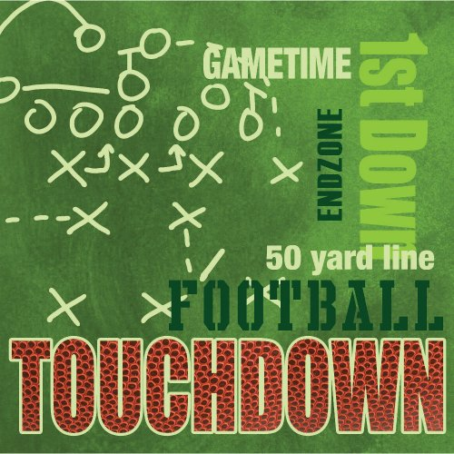 End Zone Party Lunch Napkins 18 Pack