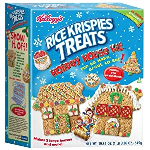 Rice Krispies Treats Holiday House Kit - Packaging Varies slightly