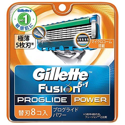 ジレット プログライドパワー替刃 8個入