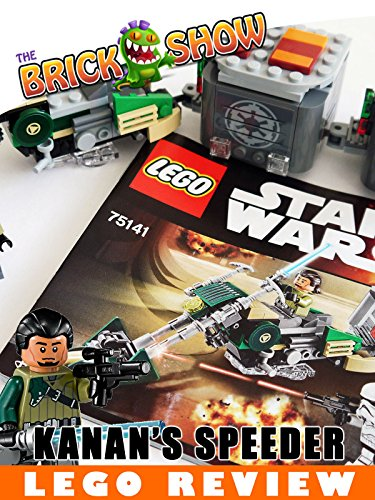LEGO Star Wars Kanan's Speeder Bike Review (75141)