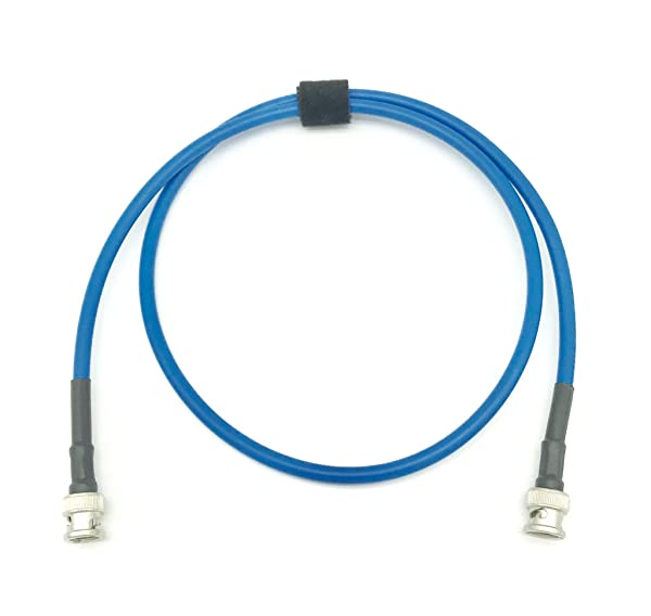 AV-Cables 3G/6G HD SDI BNC RG59 Cable Belden 1505A - Blue (75ft) (Tamaño: 75ft)