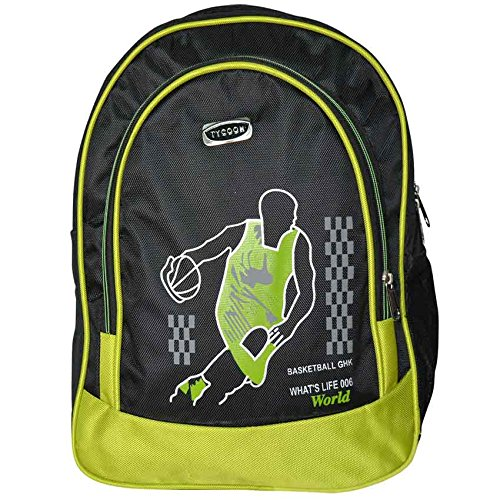 Black and GREEN Back Pack (TYC)