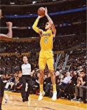 "Kyle Kuzma Los Angeles Lakers Autographed 8"" x 10"" Shooting Photograph - Fanatics Authentic Certified"