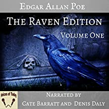 The Works of Edgar Allan Poe, The Raven Edition: Volume One Audiobook by Edgar Allan Poe Narrated by Cate Barratt, Denis Daly