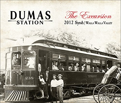 "2012 Dumas Station ""Excursion"" Estate Walla Walla Valley Syrah 750 Ml"