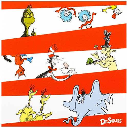 Dr Seuss Party Supplies - Lunch Napkins (20)