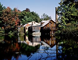 Beautiful Frye's Measure Mill, Wilton, New Hampshire - Gleaming 16x20-inch Photographic Print By Carol M. Highsmith