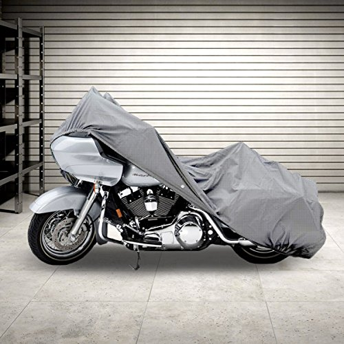 NEH Motorcycle Bike 4 Layer Storage Cover Heavy Duty For Harley Ultra Tour Glide Classic (Harley Ultra Classic Cover compare prices)