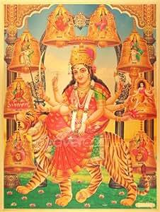 Amazon.com: Ambaji / Goddess Amba / Ambe Mataji / Maa