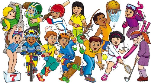 Sport Kids! Bulletin Board