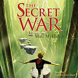 Jack Blank and the Secret War Audiobook