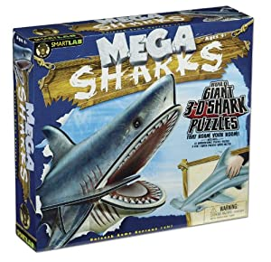 Smart Lab Mega Shark Puzzles