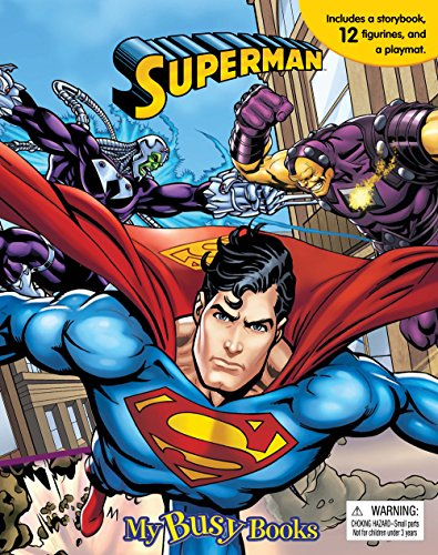 Superman My Busy Book [Phidal Publishing Inc.] (Tapa Blanda)