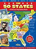 img - for The 50 States (Panorama Sticker Storybook) book / textbook / text book