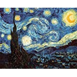 Vincent Van Gogh (The Starry Night) Art Print Poster - 36x24