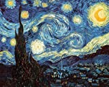 Vincent Van Gogh (The Starry Night) Art Print Poster - 36x24