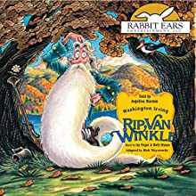 Rip Van Winkle Audiobook by Washington Irving, Rick Meyerowitz - adaptor Narrated by Anjelica Huston