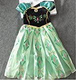 アナと雪の女王子ども用ドレスアイペンシル付キッズコスチューム女の子120cm