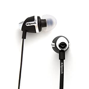 Klipsch IMAGE S4 In-Ear Bass Noise-Isolating Headphones