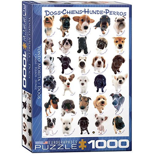 Dog Breeds 1000-Piece Puzzle