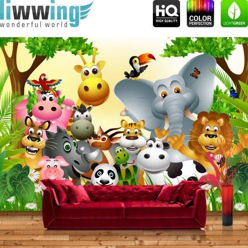 Vliestapete F?r Kinderzimmer : ANIMALS PARTY by liwwing (R) Vliestapete, Tapete, Kinderzimmer