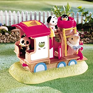 Calico Critters Baby Play Ground Climbing Train