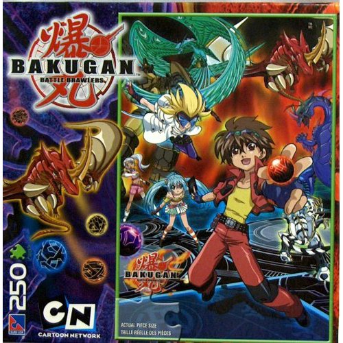 Bakugan Battle Brawlers 250-Piece Puzzle - 1