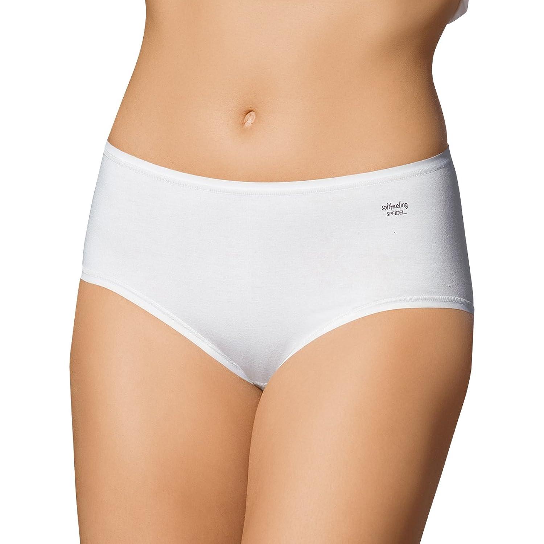 SPEIDEL Damen Maxislip 5er Pack – SOFTFEELING 9602 Baumwolle+Modal+Elasthan, Farbe Weiss/Schwarz/Skin, Gr. 38-48 günstig kaufen