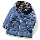 (シスキー) SHISKY キッズ M0-0 ボーイズ 袖ワッペン付きカット中綿ジャケット 上着 アウター 羽織り 防寒100 3-2