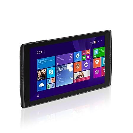 Tablette Windows 8 pouces TrekStor® SurfTab® Wintron 8.0 16 Go - Quad Core - WiFi - noir/blanc