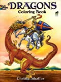 img - for Dragons Coloring Book (Dover Coloring Books) book / textbook / text book