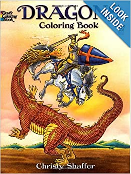 Dragons Coloring Book Dover Coloring Books Christy