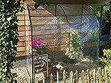 Nature - Serre souple adossée 200 x 100 x 215 cm - 2 m²