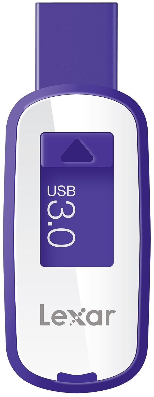 Cl� USB LEXAR JUMPDRIVE S23 LJDS23 VIOLET 64GO