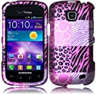 For Samsung Galaxy Proclaim S720C Illusion i110 Hard Design Cover Case Pink Exotic Skins Accessory