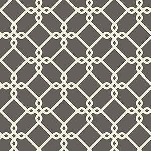 York Wallcoverings GE3626 Ashford Geometrics Wallpaper /Beige/Bronze