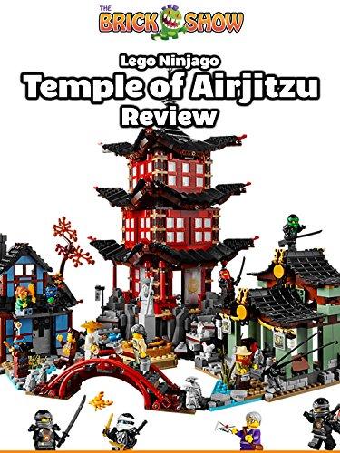 LEGO Ninjago Temple of Airjitzu Review, Set 70751