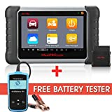 Autel MaxiPRO MP808TS Diagnostic Scanner TPMS Services Tool ABS/SRS/EPB/Oil Reset/SAS/DPF with WIFI and Bluetooth (with Free Battery Tester)