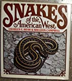 Snakes of the American West (0394488822) by Charles E Shaw