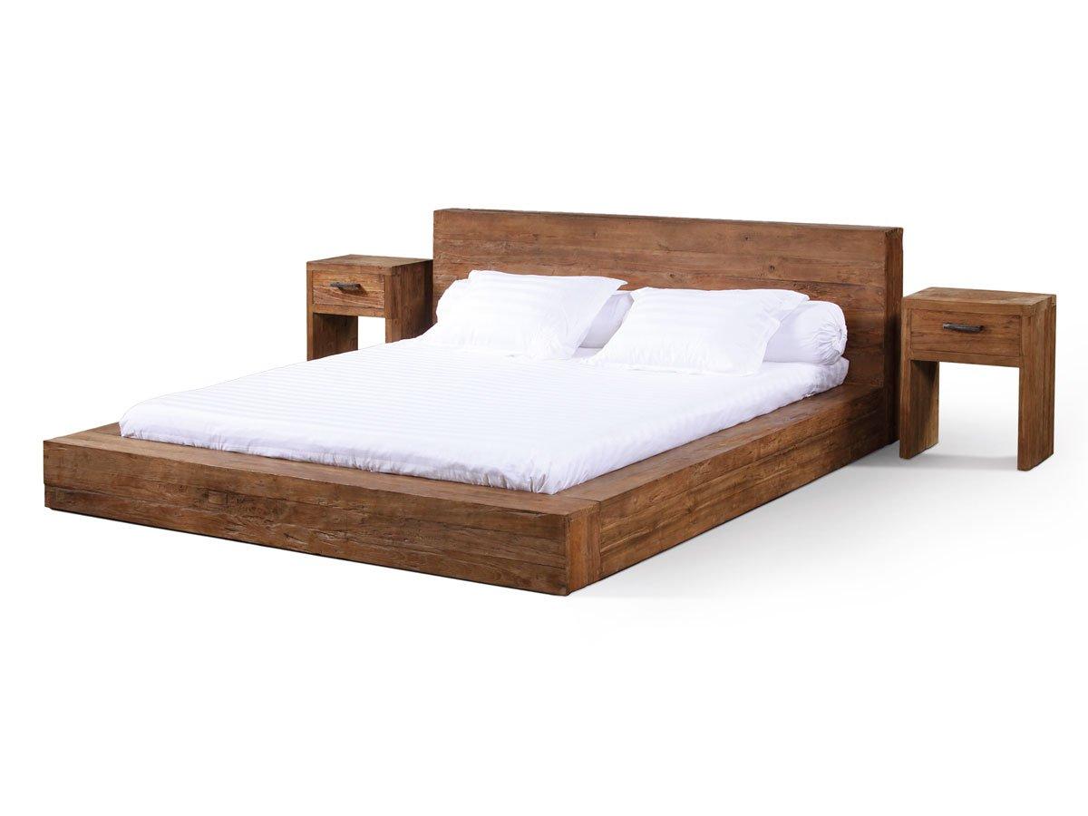BASEL Massivholzbett Teakholz, 180×200 cm online bestellen